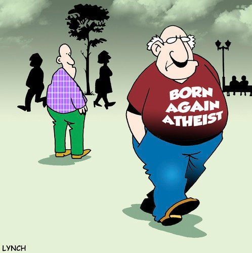 Born Again Atheist